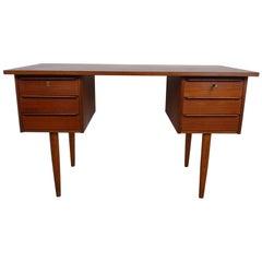 1960s Teak Desk from Denmark