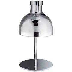 Vistosi Enne Luci Table Lamp in Mirror Crystal by Romani Saccani Architetti