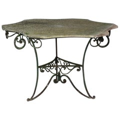 1940s French Garden Table