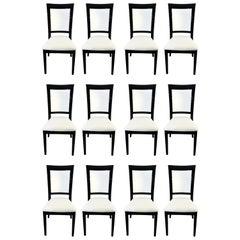 Set of Twelve Design Chairs