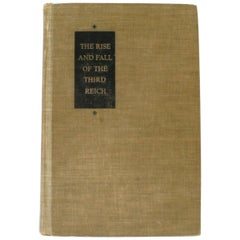 """""""The Rise and Fall of the Third Reich"""" Book by William L. Shirer"""