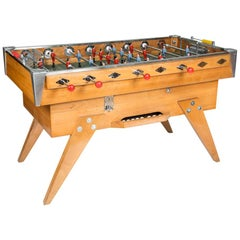 Early 1960s French Foosball/Babyfoot Football Table by Bussoz of Paris