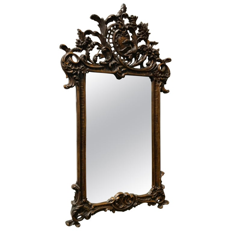 Baroque Mirror, Germany, Mid-19th Century