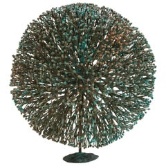 Harry Bertoia Patinated Bronze Bush Form Sculpture, USA, 1960s