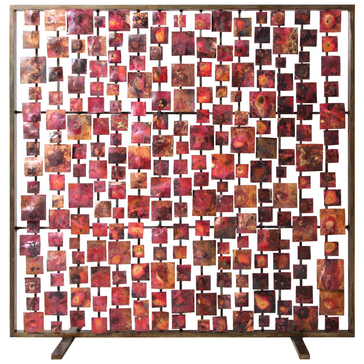 """Marie Suri """"Aurora"""" Fire Screen"""