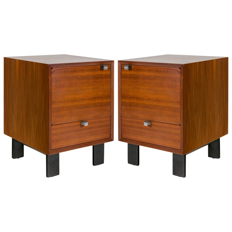George Nelson Nightstands for Herman Miller, USA, 1950s