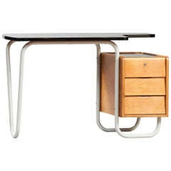 Mid-Century Modern Jacques Hitier Desk for Tubauto