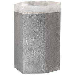 Pcr Rock Crystal Side Tables by Phoenix