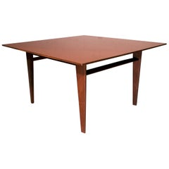 Italian Midcentury Teak Wood Coffee Table by Vittorio Dassi, 1960s