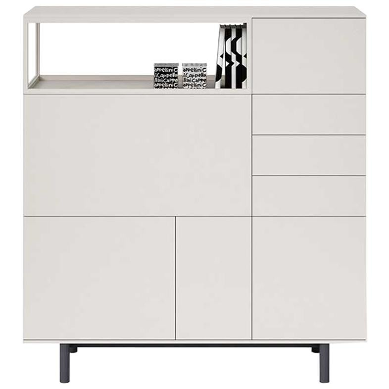 Easy Cabinet Or Bar Cabinet By Cappellini In Wood Or Lacquer