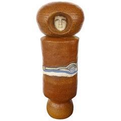 """Phyllis Hammond 1970s Ceramic """"Container's"""" Sculpture"""