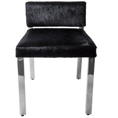 Global Views Horsehair Vanity Chair
