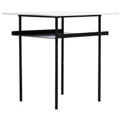 Rare Wim Rietveld for Auping Industrial Side Table