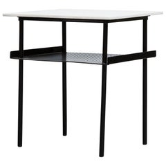 Rare Wim Rietveld for Auping Small Industrial Side Table