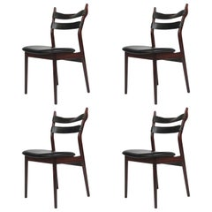 Heldge Sibast Rosewood Dining Room Chairs