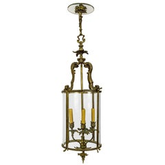 Cylindrical Regency Foliate Lantern