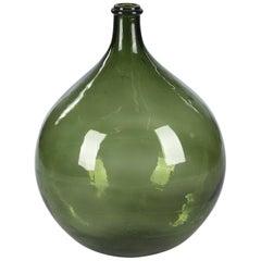 Early 1900s French Glass Bonbonne Bottle
