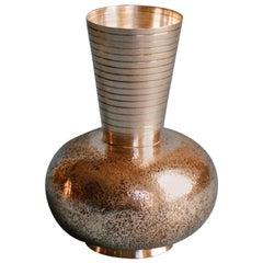 Luigi Genazzi Silver Vase, circa 1935