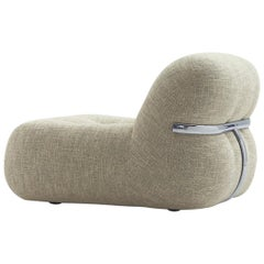 Nube Italia Track Chair in Heathered Fabric by Kemistry of Style