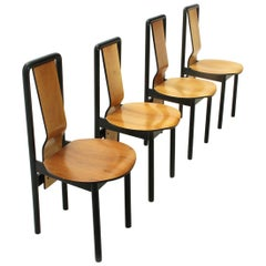 Dining Chair by Pierre Cardin, 1980s, Set of Four