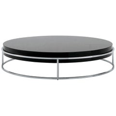 Nube Italia Link a Coffee Table in Lacquered White by Ricardo Bello Dias