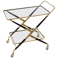 Bar Cart, Italy Mid-20th Century