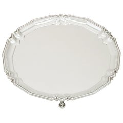 1933 Antique Sterling Silver Salver