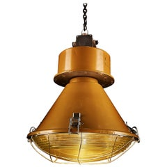 1970s ORPE 'ORP–250 E' Indoor Industrial Lamp
