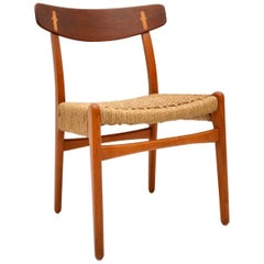 1950s Vintage CH-23 Chair by Hans Wegner for Carl Hansen