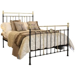 Decorative Brass and Iron Bed - MK147