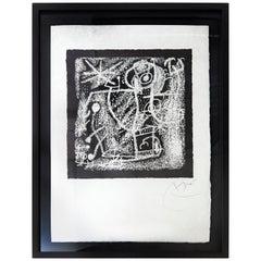 Joan Miro Les Essencies De La Terra Lithography Hand Signed