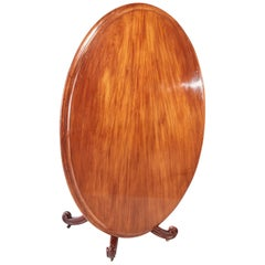 Large Oval Victorian Mahogany Dining Table