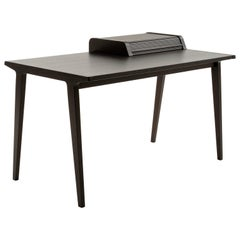 Tapparelle Desk, Contemporary Design Inspired by Ancient Roll-Up Shutter Office