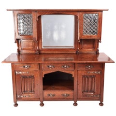 Outstanding Quality Oak Arts & Crafts Sideboard