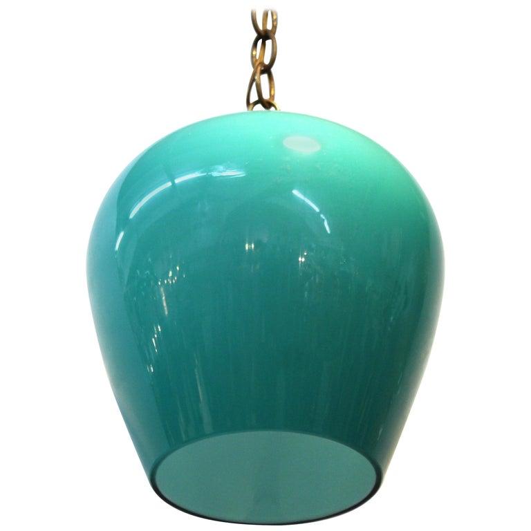 Massimo Vignelli for Venini Italian Glass Pendant