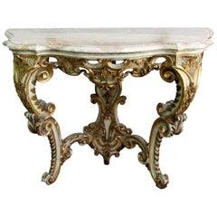 Mid-19th Century Regency Style Console