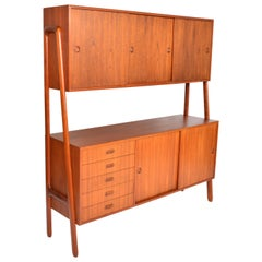 Gunni Omann Model 3 Two-Tier Credenza in Teak