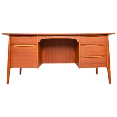 Svend Madsen Executive Desk in Teak