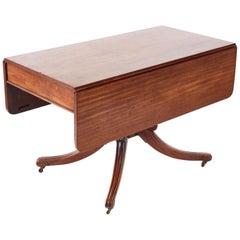 Regency Mahogany Pembroke / Dining Table