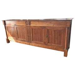 Fine Quality Late 18th Century French Provincial Directoire Enfilade