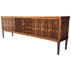 Rosewood Credenza by Henry Walter Klein for Bramin