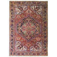 Persian Heriz Carpet, circa 1940