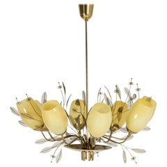 """Bridal Boquet"" Chandelier by Paavo Tynell"