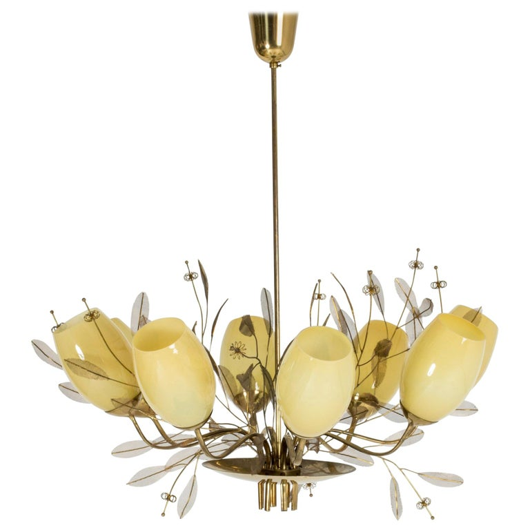 """""""Bridal Boquet"""" Chandelier by Paavo Tynell"""