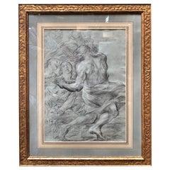 "Italian 17th Century Painter G.B. Beinaschi, ""STUDY OF FIGURES"""