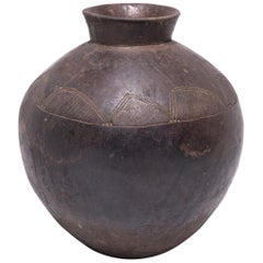 Early 19th Century Ghanaian Lobi Water Vessel
