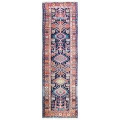 Magnificent Persian Heriz Runner