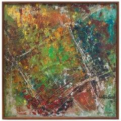 Walter Greub 1961 Abstract