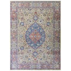 Gorgeous Antique Persian Tabriz Carpet