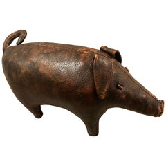 Abercrombie and Fitch Leather Pig by Dimitri Omersa